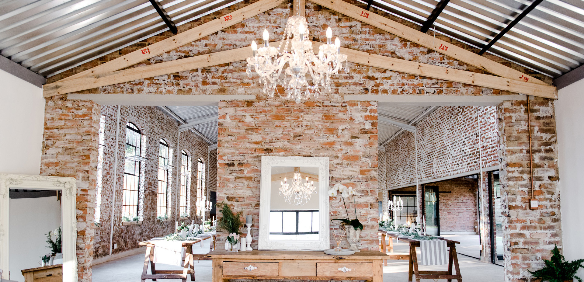 Lace on Timber | An industrial venue with a French flair